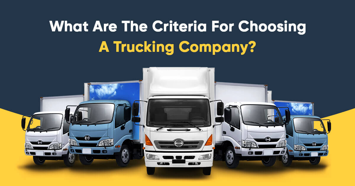 Criteria For Choosing a Trucking Company | Agg Connect - Best Truck Rental Company in Indianapolis